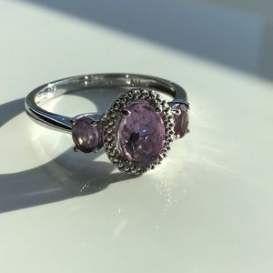 💜Antique Amethyst In Tested 925 Sterling!💜